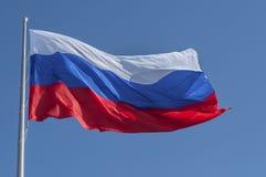 Русский флаг Стоковое Изображение