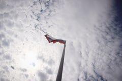 Русский флаг Стоковые Фото