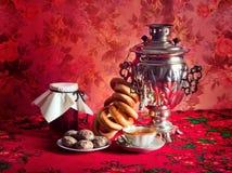 русский чай Стоковое Изображение RF