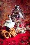 русский чай Стоковое фото RF