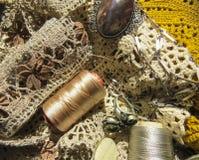 Русский шнурок катушкы Стоковые Фотографии RF