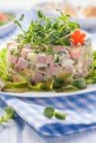 Русский яркий салат стоковые фотографии rf