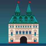 Русский дом типа Стоковые Изображения