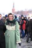 русский 2011 moscow maslenitsa масленицы Стоковое Фото