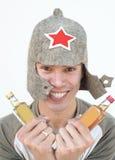 русский drunkard Стоковое Изображение