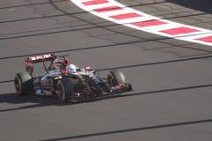 РУССКИЙ 2014 Grand Prix ФОРМУЛЫ 1 Стоковая Фотография RF