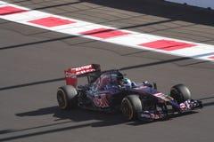 РУССКИЙ 2014 Grand Prix ФОРМУЛЫ 1 Стоковое фото RF
