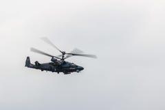 Русский KA 52 вертолета боя Стоковые Фотографии RF