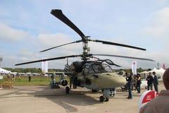 Русский KA 52 вертолета боя Стоковое Изображение