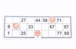 Русский Lotto Стоковые Изображения