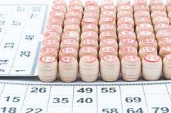 Русский Lotto стоковое изображение rf