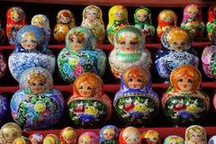 русский matreshka куклы типичный Стоковые Фотографии RF