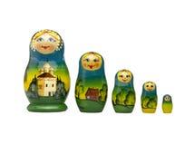 русский matreshka куклы Стоковая Фотография RF