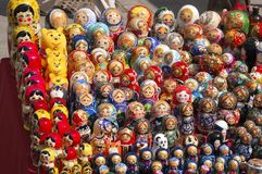 русский matrioshka куклы Стоковое фото RF