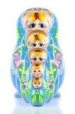 русский matrioska куклы Стоковое Фото