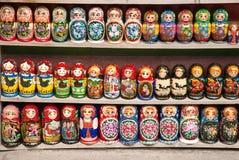 русский matrioska кукол Стоковое Фото