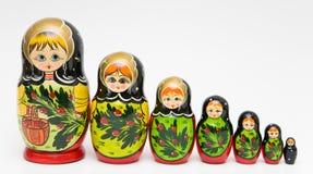 русский matryoshka куклы Стоковые Изображения RF
