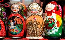 русский matryoshka куклы Стоковое Изображение