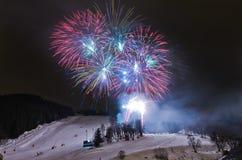 русский meribel Франции рождества торжества Стоковые Фото