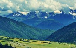русский ossetia гор федерирования caucasus alania северный Стоковые Фото