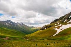 русский ossetia гор федерирования caucasus alania северный Стоковая Фотография RF