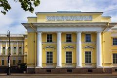русский petersburg России музея ландшафта города Дворец Mikhailovsky святой petersburg Стоковая Фотография RF
