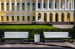 русский petersburg России музея ландшафта города Дворец Mikhailovsky святой petersburg Стоковые Изображения