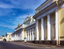 русский petersburg России музея ландшафта города Дворец Mikhailovsky святой petersburg Стоковое фото RF
