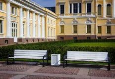 русский petersburg России музея ландшафта города Дворец Mikhailovsky святой petersburg стоковое изображение
