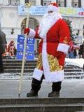 русский santa отца claus рождества Стоковая Фотография