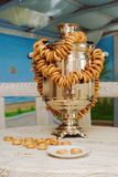 русский sauna samovar Стоковые Изображения RF
