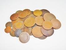 2 1813 русских копейки меди i монетки Александра старых Стоковые Изображения RF