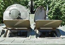 Русское земноводное armored военное транспортное средство Стоковое фото RF