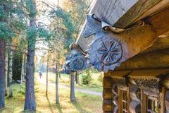 Русское зодчество здания старые Стоковое фото RF