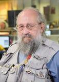 Русское интеллектуальное Anatoly Wasserman стоковые фотографии rf