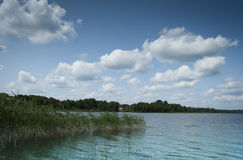 Русское озеро Стоковое Фото