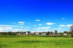 Русское село Стоковое Изображение RF