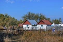 Русское село Стоковые Изображения
