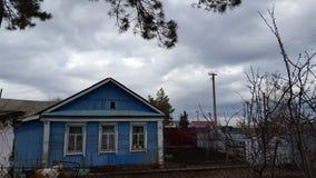 Русское село стоковое изображение