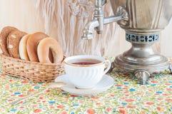 Русское tea-3 Стоковое фото RF