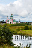 Русской православной церкви Стоковые Фотографии RF
