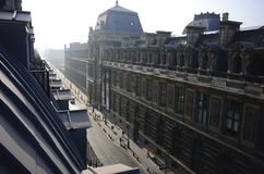 Рута de Rivoli в Париже, Франции Стоковое Изображение RF