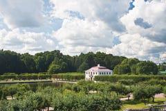 рухляковый st petersburg России peterhof дворца Стоковое Фото