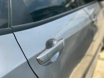 Ручка автомобиля двери автомобиля Стоковые Изображения RF
