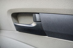 Ручка автомобильной двери автомобиля Стоковое фото RF