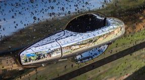Ручка двери автомобиля Стоковое Изображение RF