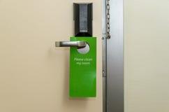 Ручка двери на гостинице Стоковые Изображения RF