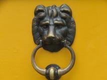 Ручка двери - ретро год сбора винограда Стоковое Изображение