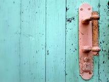 ручка двери старая Стоковое Изображение