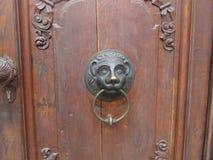 Ручка двери бросания металла стоковые изображения